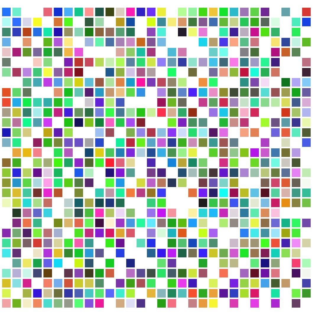 カラー コード 進数 16
