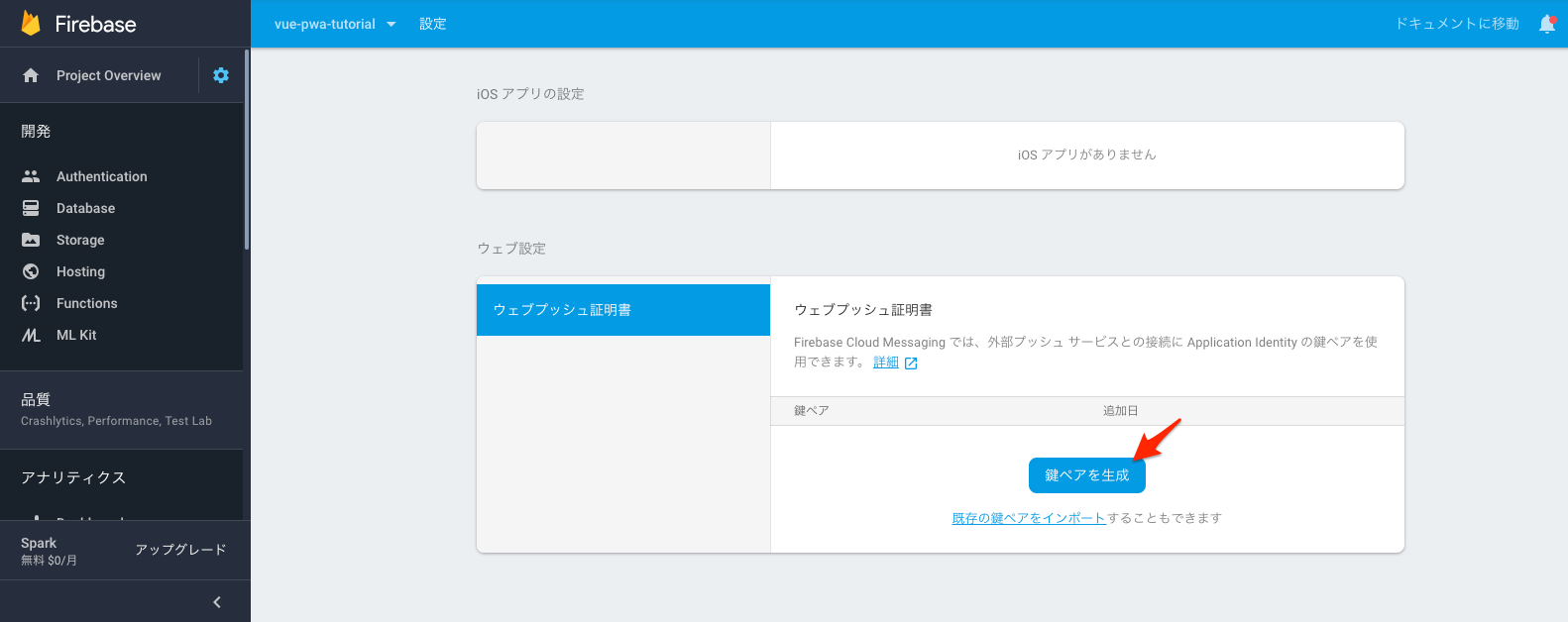 vue-pwa-tutorial_–設定–_Firebase_console.png