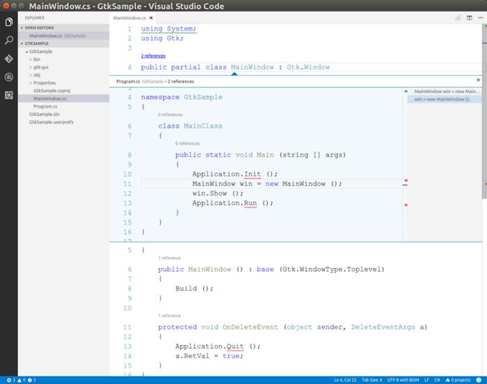 vscodeのCodeLens