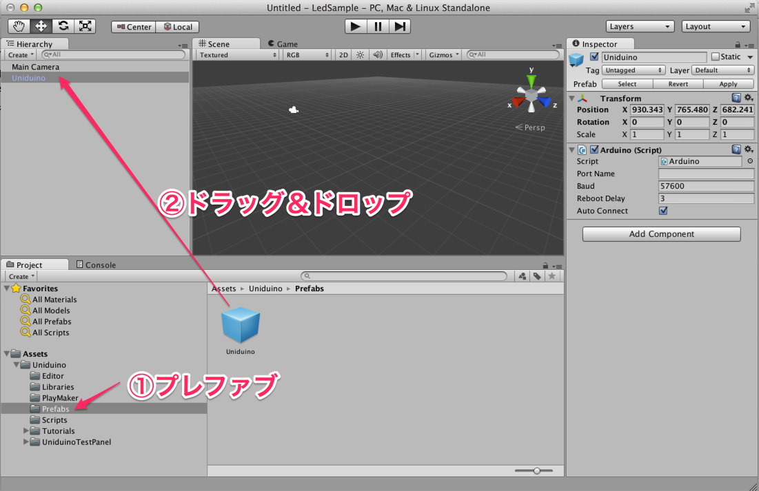 Unity用ハードウェア自作への道 unityとarduinoを連携 by uniduino qiita