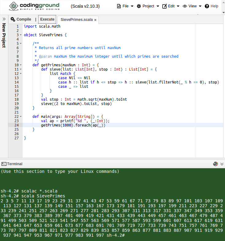 coding ground qiita