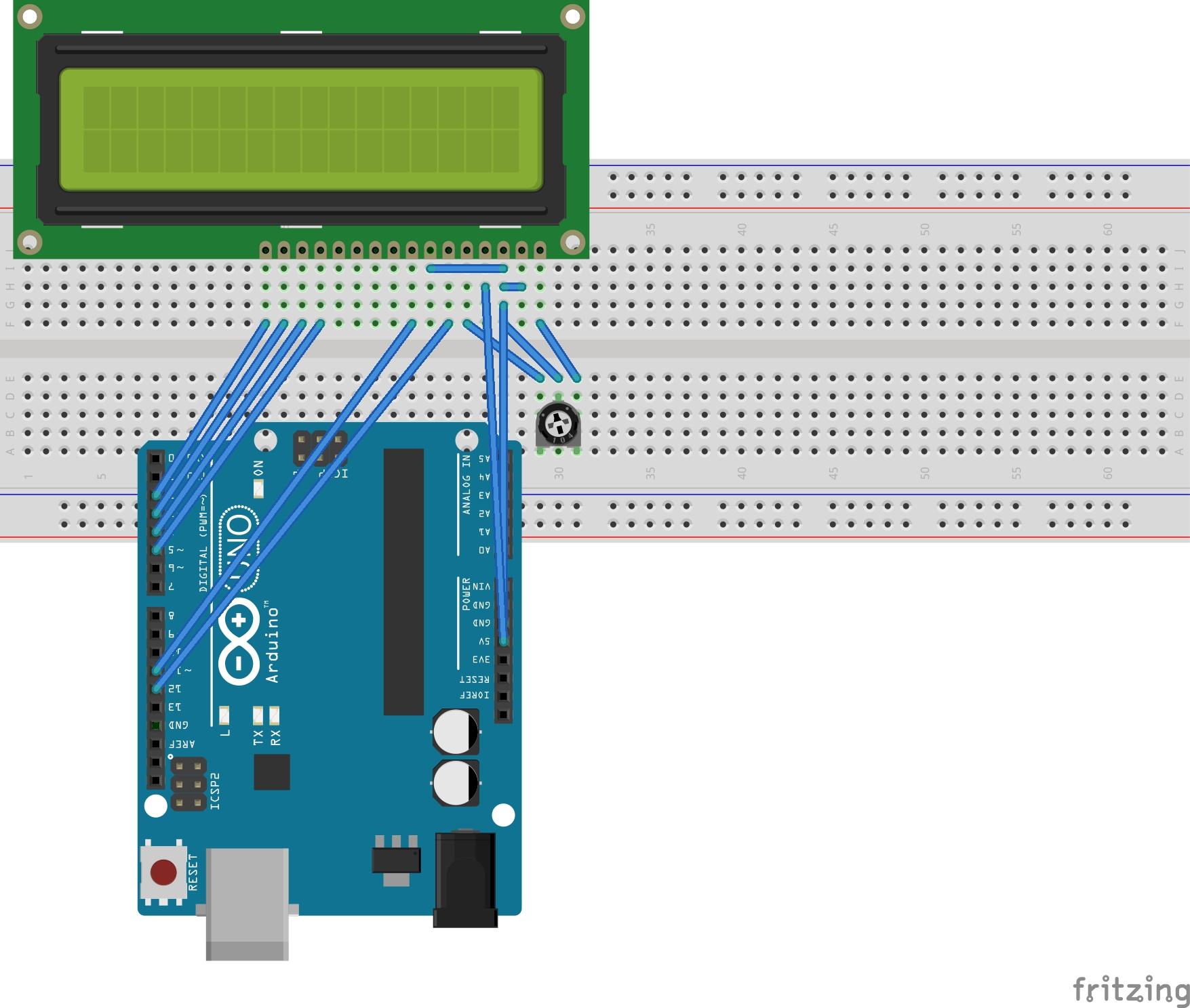 Arduinoで小型液晶に文字を表示する qiita