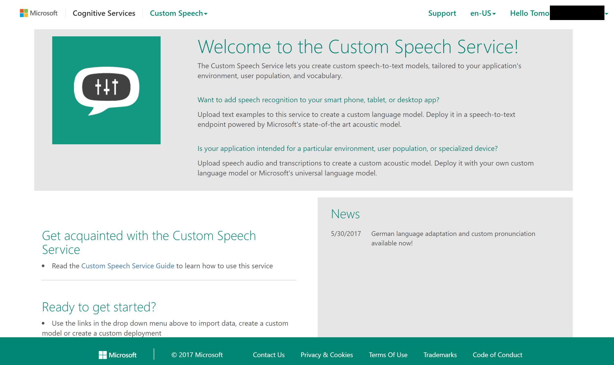 Get subscription keys for the Custom Speech Service on Azure     Essay Writing Secret