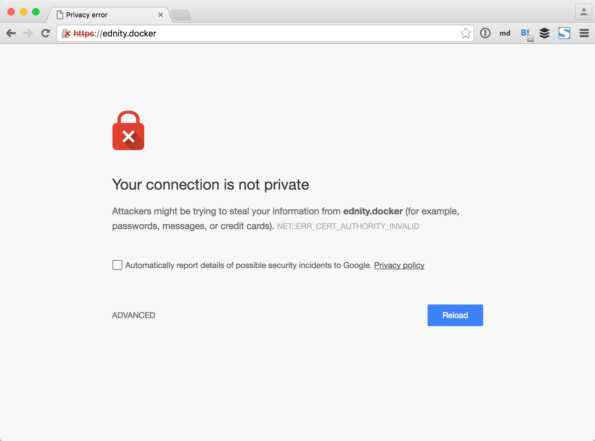 ChromeでYour connection is not privateと表示される.png